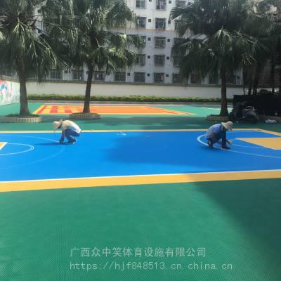 南宁市悬浮拼装地板铺设