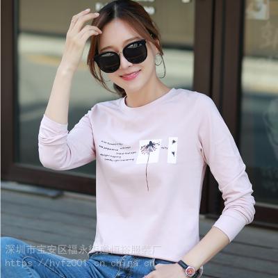 厂家直销江西南昌女装T恤货源大量新款新图案各地服装地摊市场直播货源