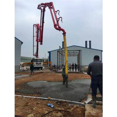 厂家直销混凝土泵车优惠的 泵车混凝土泵车