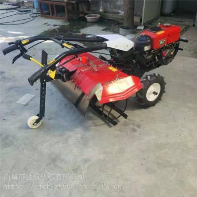 驰航机械 手推式多功能微耕机 柴油动力小型锄草耕土机 农用小型四驱旋耕机 价格