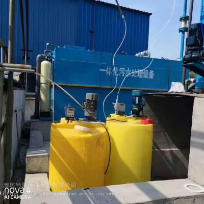 养猪场污水处理设备使用效果-竹源环保