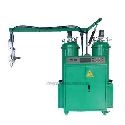 小型聚氨酯pu发泡机低压发泡机,一键自动清洗-久耐机械