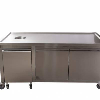 温州防火工作台 诚信互利 无锡市永会厨房设备制造供应