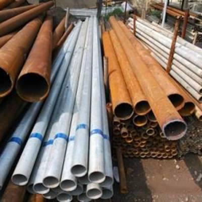 3pe防腐钢管回收出售郑州麻钢回收价格-【荷露物资回收】
