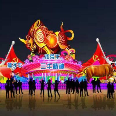 做花灯的视频 福州南宁哪里有花灯 动漫灯展