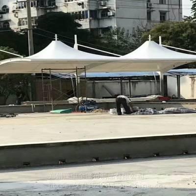 设计安装银川SF-MJG0314新型钢膜结构停车棚(量大重优)