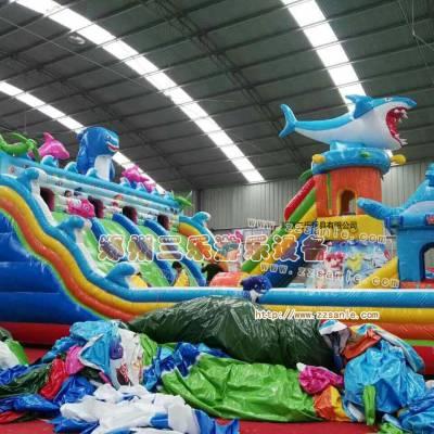 广东阳春新款式大型儿童充气滑梯儿童喜爱玩具***位购买渠道