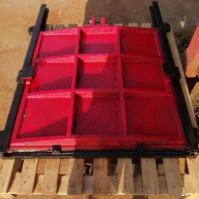 1.8米*1.8米铸铁镶铜方闸门的保养及维护方法
