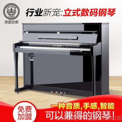立式电钢琴世爵L118一件代发家用儿童教学数码电钢琴