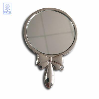 创意镶嵌镜子金属徽章个性logo胸针制作烤漆珐琅定制异形镂空徽章