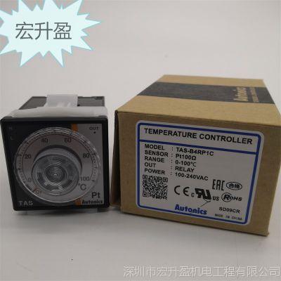 实物Autonics TAS-B4RP1C温控器100-240VAC