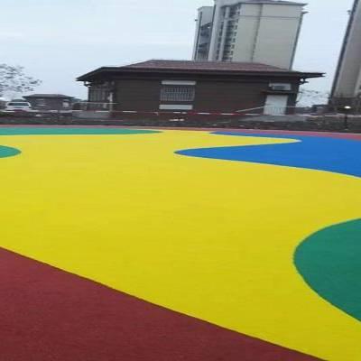 钦州硅pu篮球场施工 社区修建篮球场报价材料厂家 煌盛
