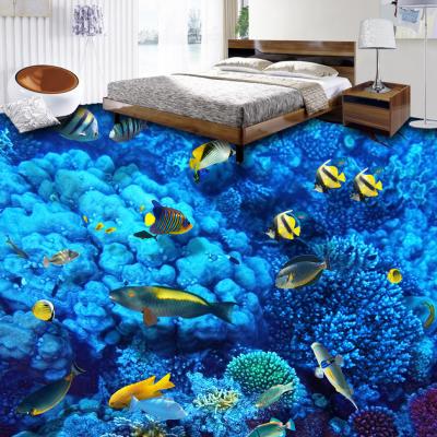 小溪流水鲤鱼立体地板砖供应商价位
