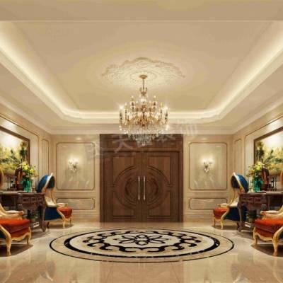 融创玫瑰园别墅设计,玫瑰园独栋别墅装修,渝北品质豪宅室内设计效果图