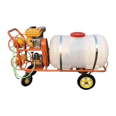 400升推车式喷雾器 汽油小四轮推车型喷雾器 润丰 甜瓜地打药机