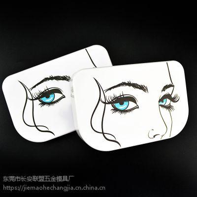 工厂定制高档睫毛盒塑料假睫毛收纳盒眼睫毛包装盒