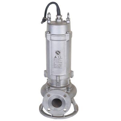不锈钢排污泵 65WQP25-32-5.5 不锈钢污水泵厂家 不锈钢耐腐蚀泵