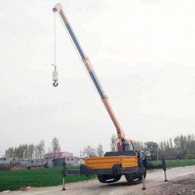 小型履带运输随车吊_履带运输小吊车厂家直销