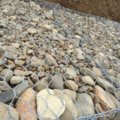 供应铅丝格宾石笼网 吉林优质边坡防护铅丝石笼