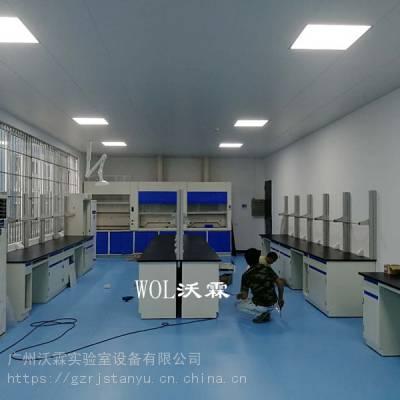 实验室的气流控制 施工
