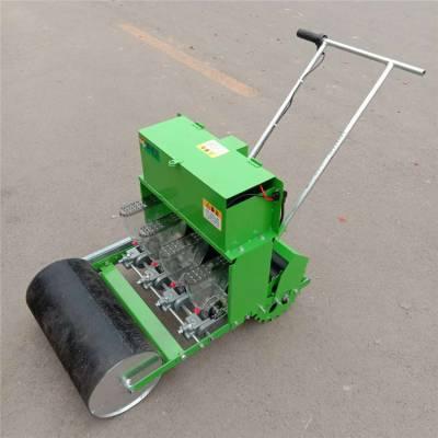 多功能自走式菜籽播种机 株距可调轻便精播机