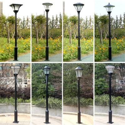 焦作太阳能庭院灯厂家-LED庭院灯价格HV-33款式图片