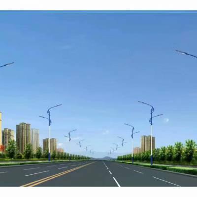 衡阳LED7米60W接电路灯价格 220V市政路灯生产厂家