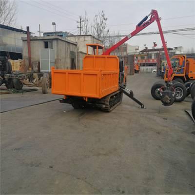 6吨履带工程车 农用履带窄体车