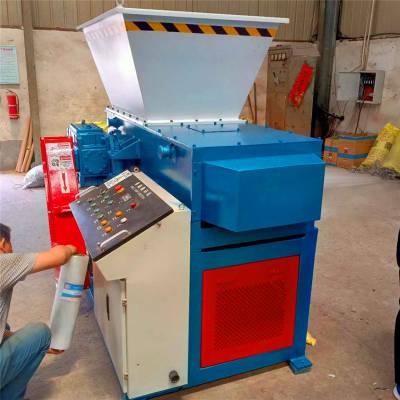 巩义编织袋撕碎机 不缠轴编织袋粉碎机 功率小产量高