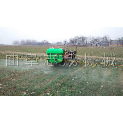 多功能悬挂式喷药器视频 小麦玉米蔬菜打药机 拖拉机悬挂式大面积农田喷药机