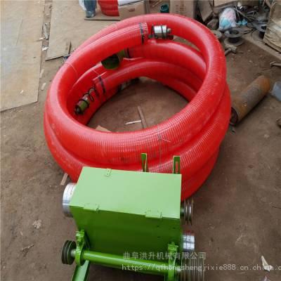 沙子水泥传送快速的车载吸粮机 粮仓搬运粮食使用螺旋吸粮机