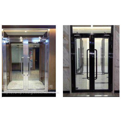 四川不锈钢防火玻璃门整套门订做安装价格