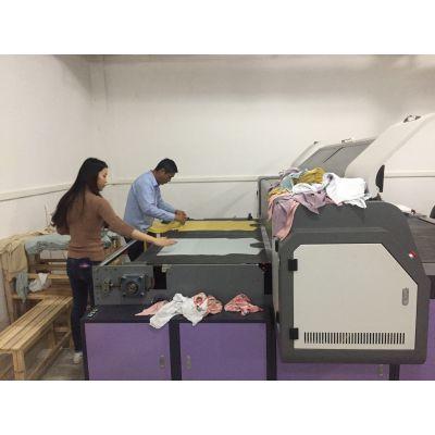 广东世纪方达 3D直喷印花机 跑台数码印花机 导带喷墨纺织机