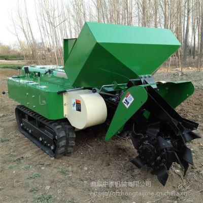 坡地开荒除草施肥机 多种地形开沟培土机 中泰机械