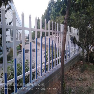 供应河南工厂围墙PVC隔离围栏 道路绿化塑钢隔离栏 草坪护栏送立柱现货