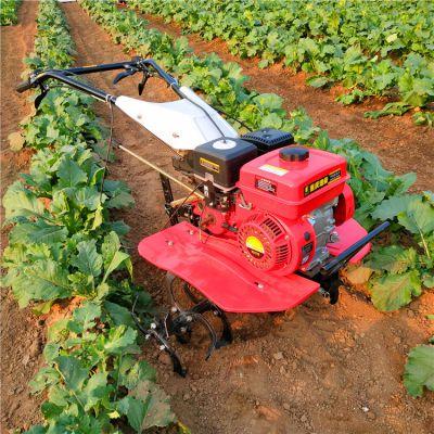 带转向四驱微耕机自走式汽油柴油小型农用开沟除草耕地机型号