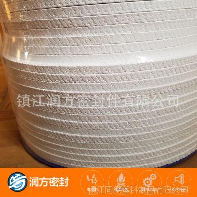 大量的销售聚四氟乙烯PTFE盘根 规格可以选购 现货库存众多