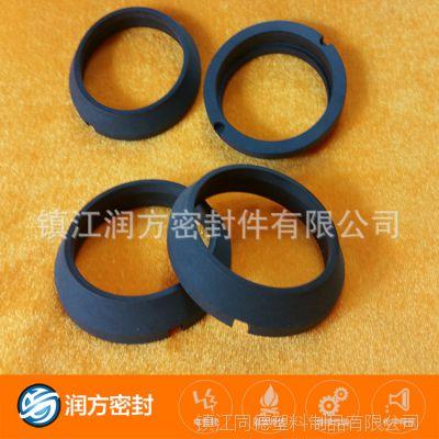 聚四氟乙烯PTFE黑色碳纤维耐磨件制品(可以根据客人要求定制)