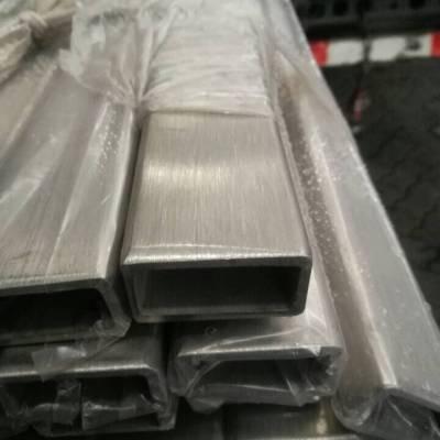 316不锈钢拉丝方管规格15*20*1.0西安不锈钢方管价格炊事设备用管