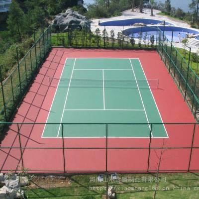 球场体育场围网 厂家销售 学校运动场防护网 绿色喷塑篮球场围网操场围网