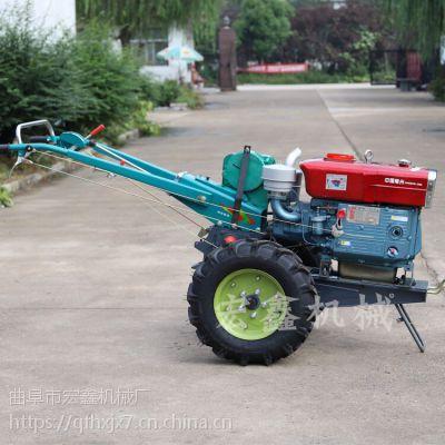 小型农用手扶旋耕机 山地丘陵手扶耕地机 12马力手扶拖拉机价格