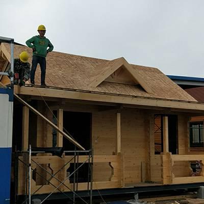 林间建造木屋-鄂尔多斯木屋建造-大茂森木值得信赖(查看)