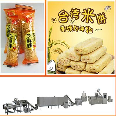 河北节能环保夹心米果加工生产线/注芯设备/朗正厂家新品直供