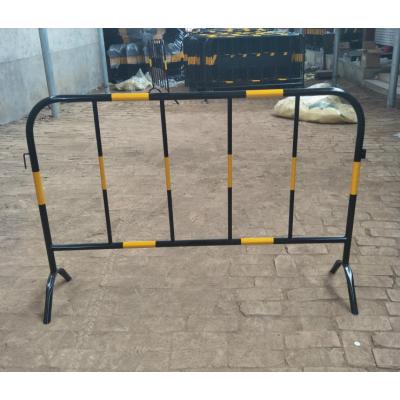 施工隔离铁护栏/可移动临时栏杆/铁马护栏现货厂家