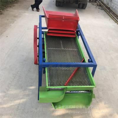 粮食振震动筛选机玉米大豆小麦稻谷小型粮食筛选机厂家