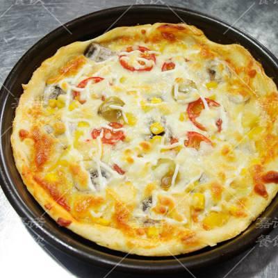 披萨培训班 学习水果披萨培根披萨技术 免费试吃