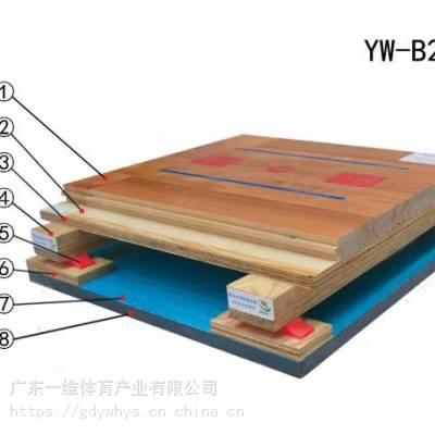 二级枫桦木单龙骨运动木地板篮球馆羽毛球馆乒乓球馆木地板环保材质