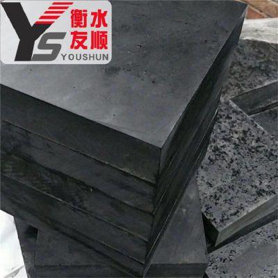 桥梁缓冲橡胶垫块多少钱 桥梁减震橡胶垫块300*300*30mm厂家批发