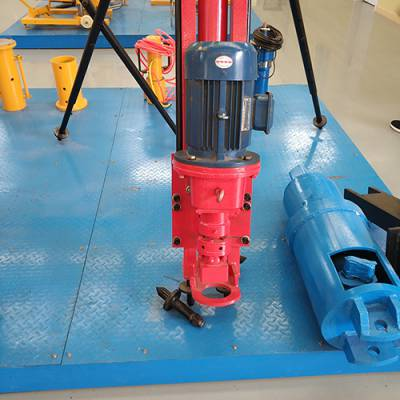 恒旺供应100型气动潜孔钻机 边坡支护潜孔钻机 便携式气动钻机