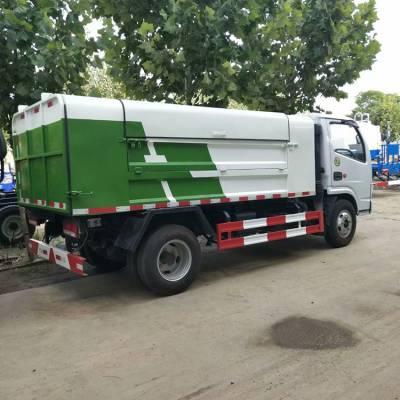 东风牌垃圾车 大型挂桶垃圾车 高品质 翻转垃圾车